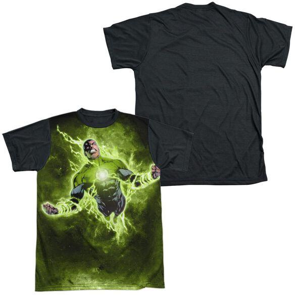 Green Lantern Inner Strength Short Sleeve Adult Front Black Back T-Shirt