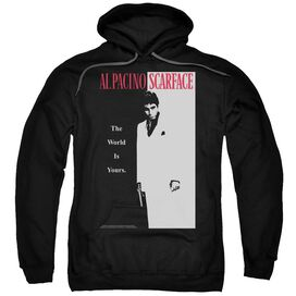 Scarface Classic Adult Pull Over Hoodie