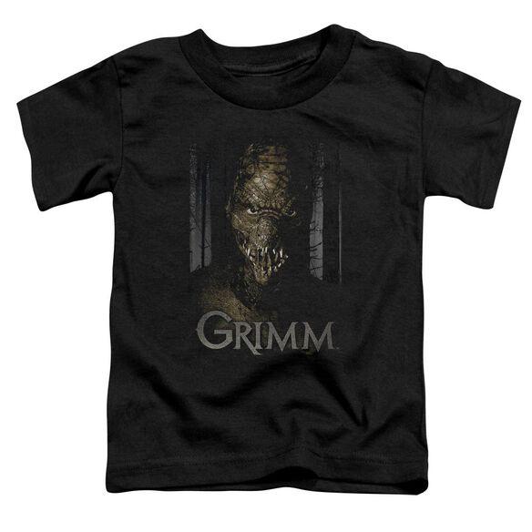 Grimm Chompers Short Sleeve Toddler Tee Black Sm Black Sm T-Shirt