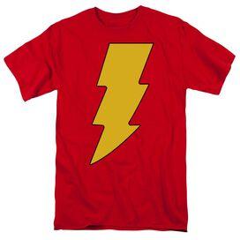 Dc Shazam Logo Short Sleeve Adult T-Shirt