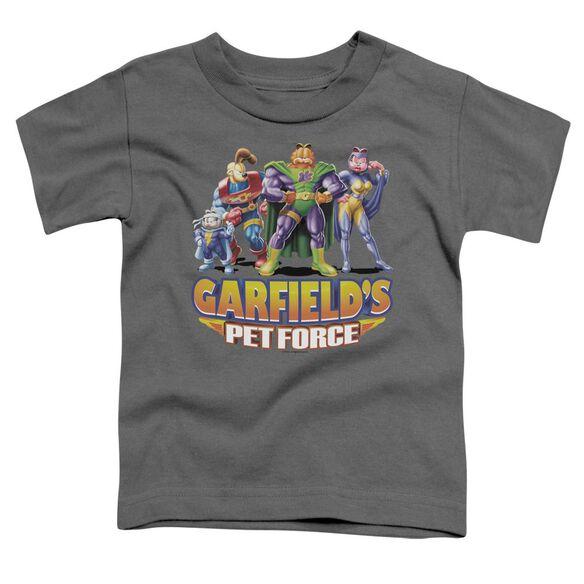 Garfield Beyond Short Sleeve Toddler Tee Charcoal T-Shirt