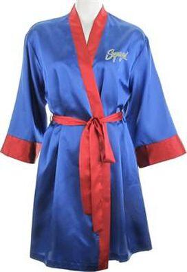 Supergirl Bombshell Satin Junior Robe