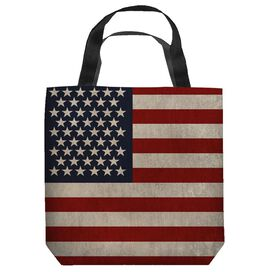 Old American Flag Tote Bag
