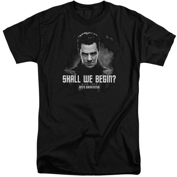 Star Trek Shall We Begin Short Sleeve Adult Tall T-Shirt