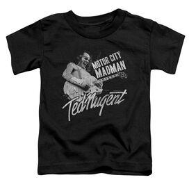 Ted Nugent Madman Short Sleeve Toddler Tee Black T-Shirt