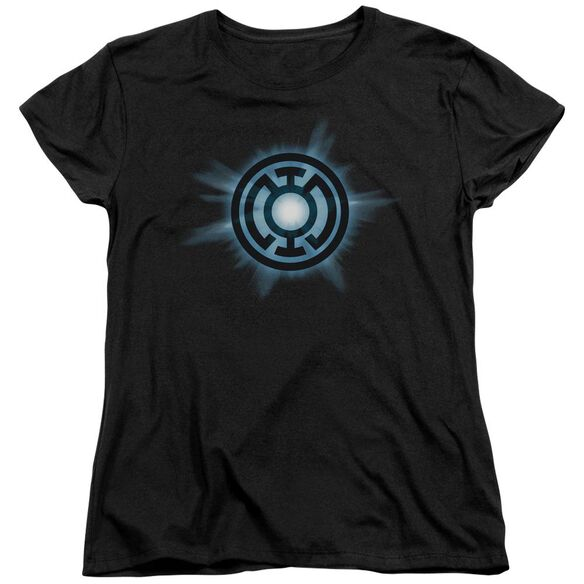 Green Lantern Blue Glow Short Sleeve Womens Tee T-Shirt
