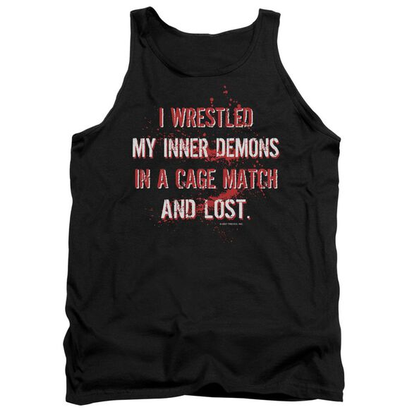 Wrestling Inner Demons Adult Tank
