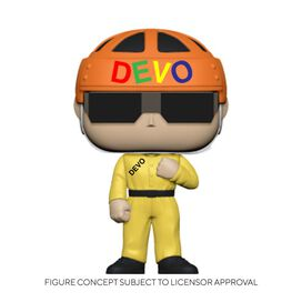 Funko Pop! Rocks: Devo - Satisfaction (Yellow Suit)