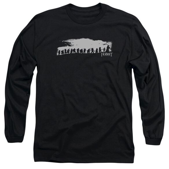 The Hobbit The Company Long Sleeve Adult T-Shirt