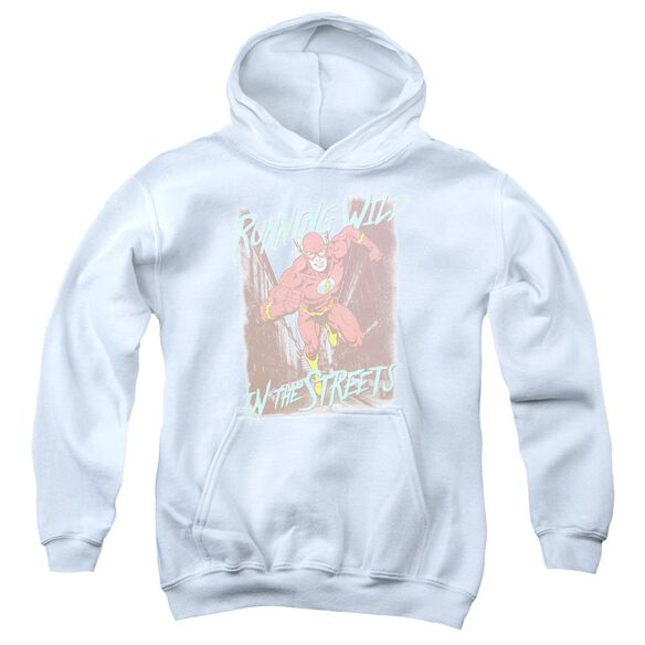 Jla Running Wild Youth Pull Over Hoodie