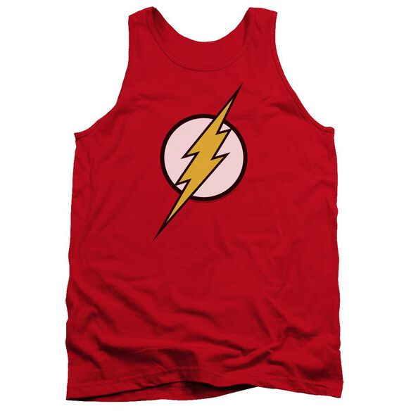 Jla Flash Logo Adult Tank