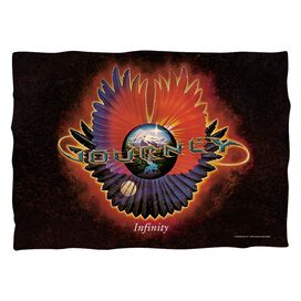 Journey Infinity Pillow Case White