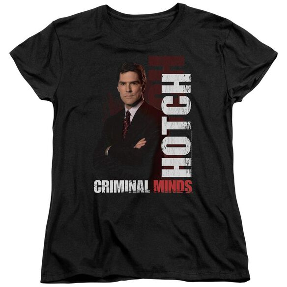 Criminal Minds Hotch Short Sleeve Womens Tee T-Shirt