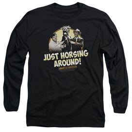 ABBOTT & COSTELLO HORSING AROUND-L/S T-Shirt