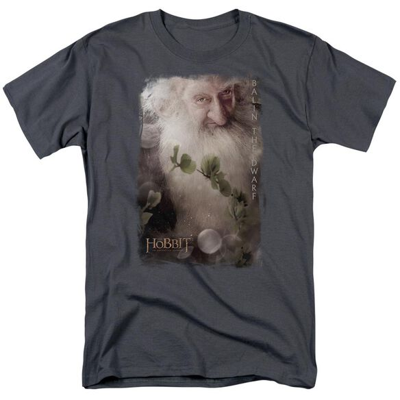 The Hobbit Balin Short Sleeve Adult Charcoal T-Shirt