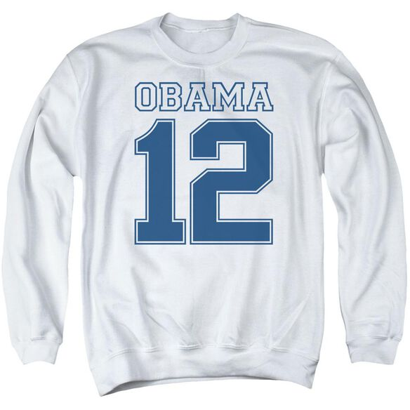 Obama 12 Adult Crewneck Sweatshirt
