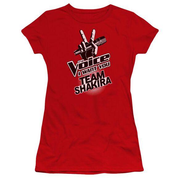 The Voice Team Shakira Premium Bella Junior Sheer Jersey