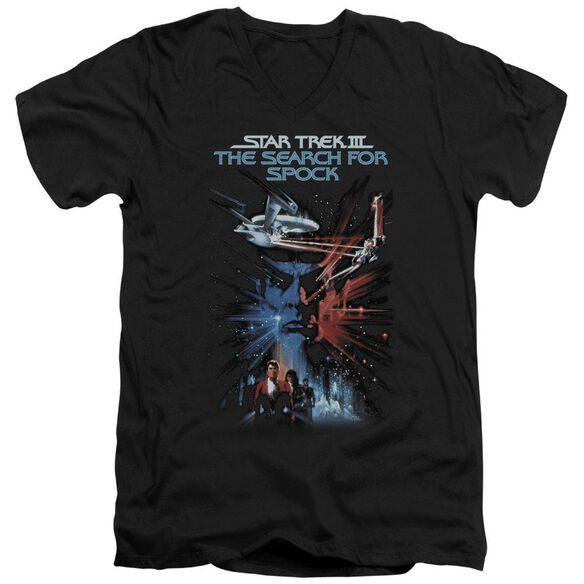 Star Trek Search For Spock(Movie) Short Sleeve Adult V Neck T-Shirt