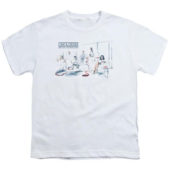 Law And Order Svu Dominos Short Sleeve Youth T-Shirt
