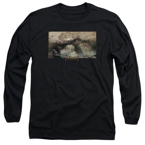 Hobbit Epic Journey Long Sleeve Adult T-Shirt