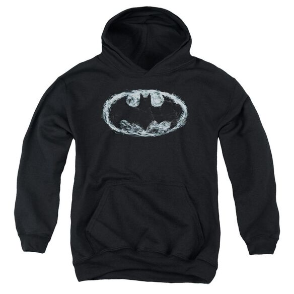 Batman Smoke Signal Youth Pull Over Hoodie