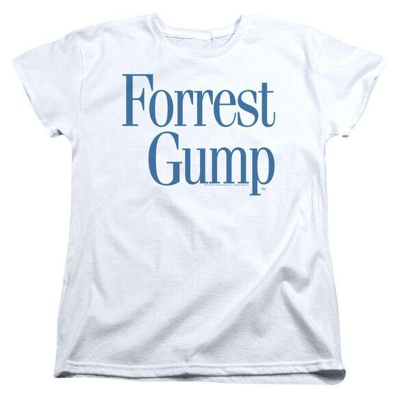 Forrest Gump Logo Short Sleeve Womens Tee T-Shirt