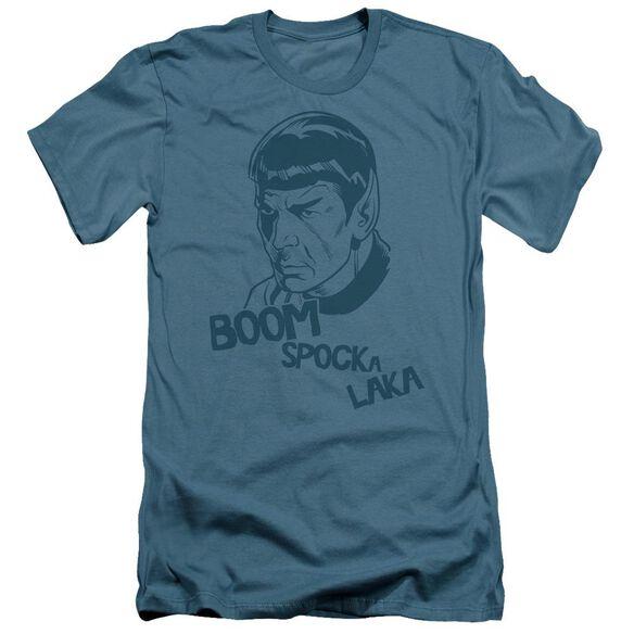 Star Trek Boom Spocka Laka Short Sleeve Adult T-Shirt