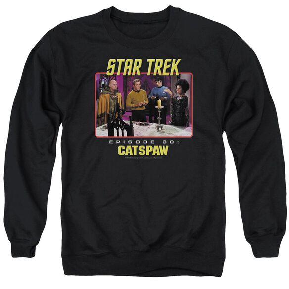 Star Trek Original Cat'S Paw Adult Crewneck Sweatshirt