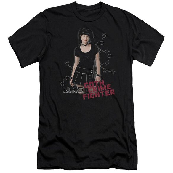 Ncis Goth Crime Fighter Short Sleeve Adult T-Shirt