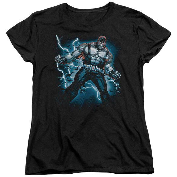 Batman Stormy Bane Short Sleeve Womens Tee T-Shirt