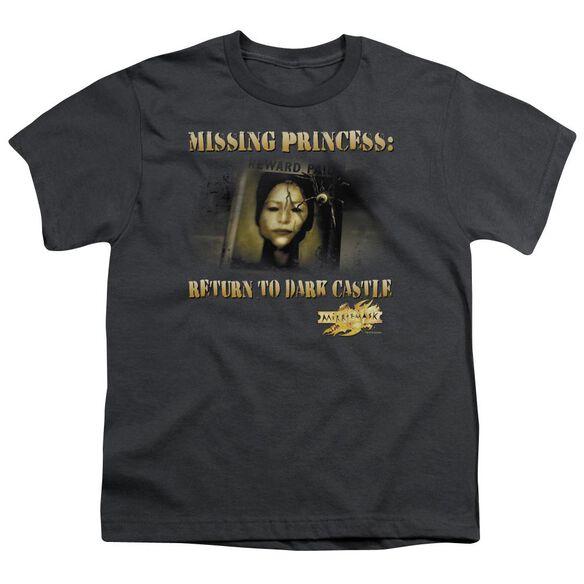 Mirrormask Missing Princess Short Sleeve Youth T-Shirt