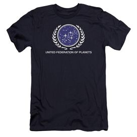 Star Trek United Federation Logo Premuim Canvas Adult Slim Fit