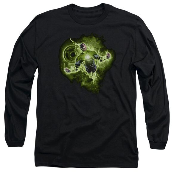 Green Lantern Lantern Nebula Long Sleeve Adult T-Shirt