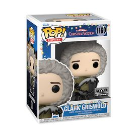 Funko Pop! Movies: Christmas Vacation - Clark with Sled