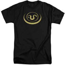 Sg1 Goa'uld Apothis Symbol Short Sleeve Adult Tall T-Shirt