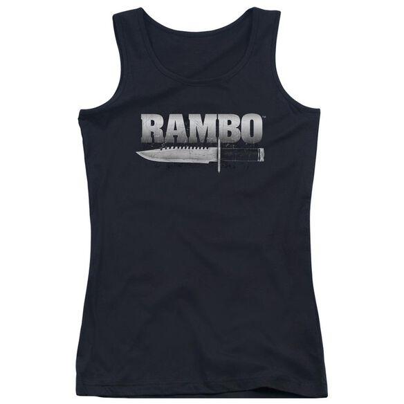 Rambo:First Blood Knife Juniors Tank Top
