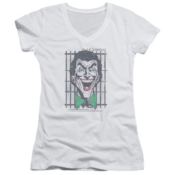 Dc Criminal Junior V Neck T-Shirt