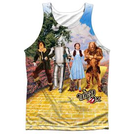 Woz On The Road Adult Poly Tank Top