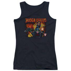 Judge Dredd Through Fire Juniors Tank Top