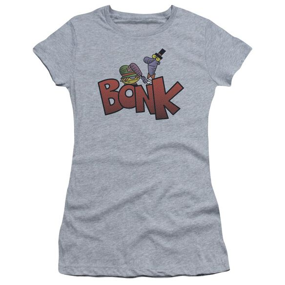 Dexter's Laboratory Bonk Short Sleeve Junior Sheer Athletic T-Shirt