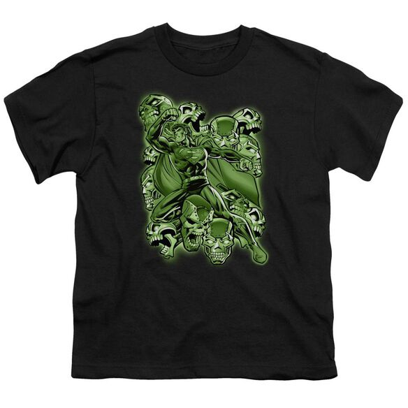 Superman Metallo Mayhem Short Sleeve Youth T-Shirt