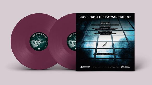London Music Works - Music From The Batman Trilogy [Exclusive 2LP Purple Vinyl]