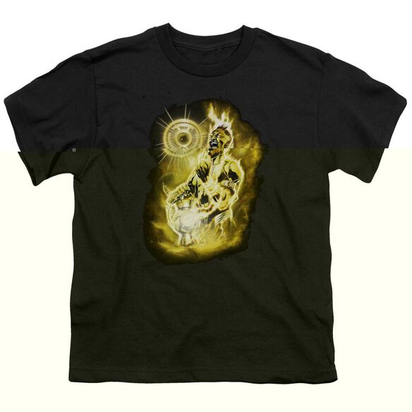 Green Lantern Sinestro Nebula Short Sleeve Youth T-Shirt