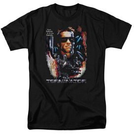 Terminator Your Future Short Sleeve Adult Black T-Shirt