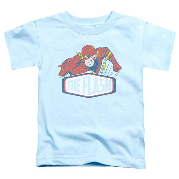 Dco Flash Sign Short Sleeve Toddler Tee Light Blue Lg T-Shirt