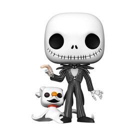 Funko Pop! Disney: Nightmare Before Christmas - Jack Skellington With Zero 10 Inch