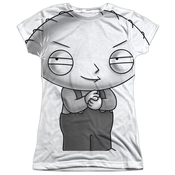 FAMILY GUY STEWIE HEAD-S/S JUNIOR T-Shirt