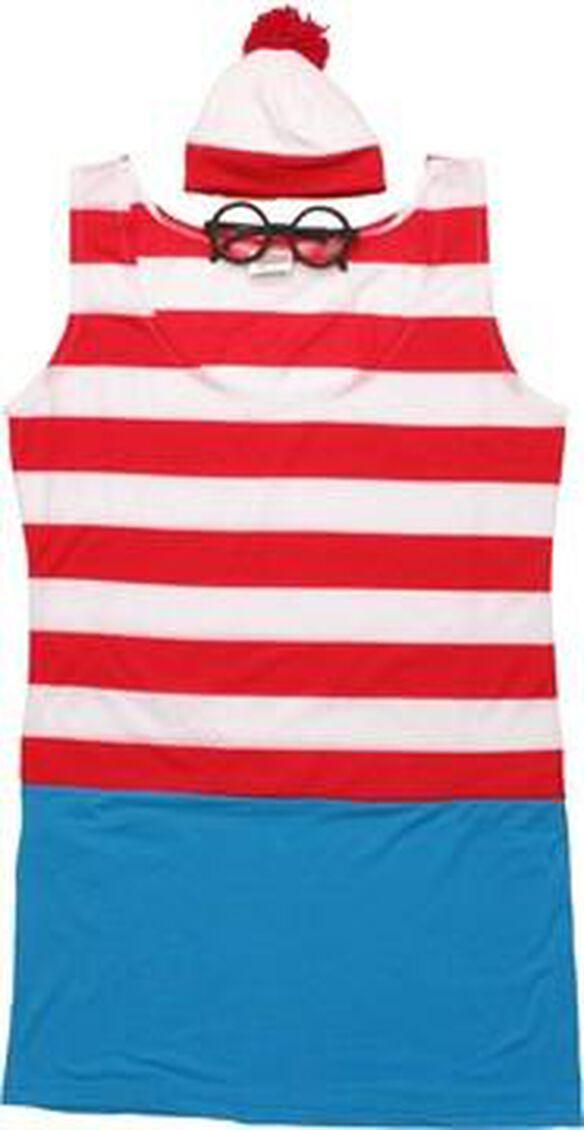 Where's Waldo Wenda Dress Costume