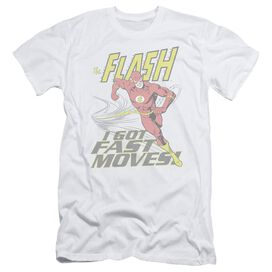 DC FLASH FAST MOVES - S/S ADULT 30/1 - WHITE T-Shirt