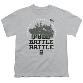 Army Full Battle Rattle Short Sleeve Youth T-Shirt